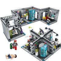 367pcs Biochemical Lab Zombie Minifigures for Lego City Avanger Minifigure