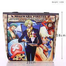 One Piece Luffy Nach 2 jahre Anime Tasche Tragtasche Handtasche 28X25cm Leinwand