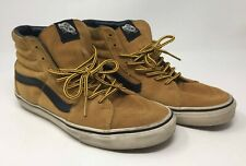 07b205b83b1f VANS Off The Wall Leather Skateboarding Shoes 8.5 Mens 10 Womens