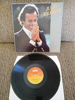 """Julio iglesias Fidèle LP 12 """" CBS 1981 Holland Original Ed Sung Französisch"""