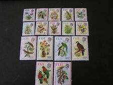 FIJI, SCOTT # 305-320(16), COMPLETE SET 1971-72 QE2 PICTORIAL ISSUE MVLH