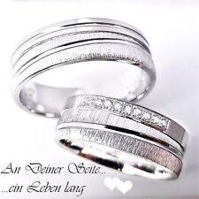 2 Trauringe 925 mit Gravur + Etui Eheringe Verlobungsringe Hochzeitsringe 3311-9