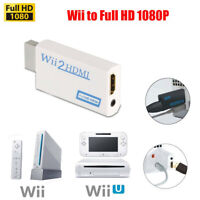1080P Wii to HDMI Full HD Converter Adapter 3.5mm Audio Output Jack TV Wii2HDMI
