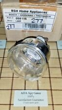 NEW Gaggenau Oven Light Lens and Socket 00098116, 098116, 371532 SATSF GUAR