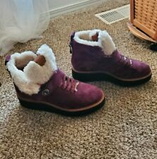 New! Authentic Coach boots. Size 8.5. Burgundy hiker boots.