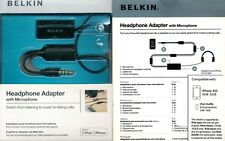 Belkin Adattatore cuffia professionale e switch alla chiamata - Iphone Android