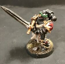 Warhammer 40k Space Marine Black Templar Special Limited Edition Emperors Champ