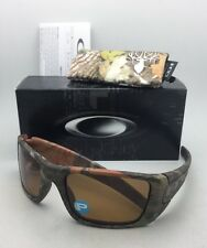 Polarized OAKLEY Sunglasses FUEL CELL OO9096-D9 60-19 WoodLand Camo w/ Bronze
