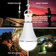 4 Pack Emergency Rechargeable Light Bulb, Stay Lights Up When Power Failure 15W