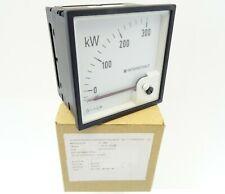 Drehspulinstrument Wattmeter DEIF DQ96 Leistungsmesser -30-0-300kW 600009522.50