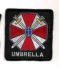 """Resident Evil Umbrella Corporation w Words Logo 3"""" Embroidered Patch (REPA-102)"""