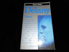 Samuel Delany : Triton Editions Pocket 1988 avec carte Siudmak
