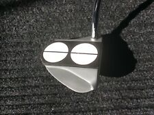 "Odyssey White Hot RX 2 Ball Putter 35"" with Super Stroke Slim 3.0 Excellent Cond"