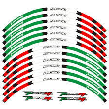 "For APRILIA TUONO V4 1100 V4R CUSTOM 17"" RIM STRIPES WHEEL DECAL TAPE STICKER"