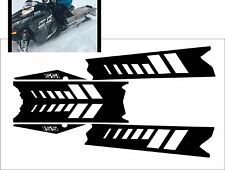 POLARIS RUSH PRO RMK  ASSAULT 144 155 163 TOP side TUNNEL DECAL STICKER white