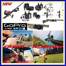 Supporto GOPRO Sportsman Mount Fucile Arco Canna  HERO 5 4 3 2 Session originale