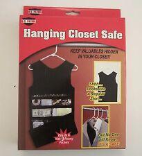 US Patrol Hanging Closet Safe, Diversion Fake Shirt 9 Storage Pockets