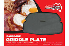 CAMPAQUIP Cast Iron Full Size Griddle Plate for Weber Baby Q100 / Q1000 BBQ