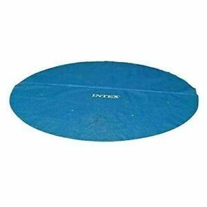 INTEX Solar Cover for 9.5ft 10ft 12ft 15ft 18ft Diameter Easy Set Frame Pool