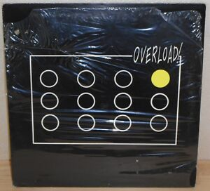 LP OVERLOAD Overload! (Label Service 86) Italian new wave electro synth SEALED!
