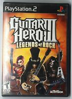Guitar Hero III: Legends of Rock - Playstation 2 PS2 Game - Complete & Tested