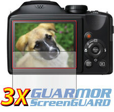 3x Clear LCD Screen Protector Film Fujifilm Fuji FinePix S6600 S6700 S6800 S6850
