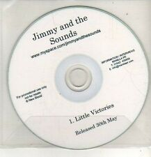 (CO94) Jimmy And The Sounds, Little Victories - DJ CD