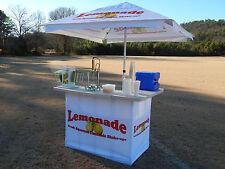 Concession Cart Trailer Lemonade Stand