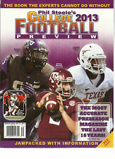 PHIL STEEL'S COLLEGE 2013 FOOTBALL PREVIEW,THE BOOK THE EXPERTS CANNOT DO WITHOT