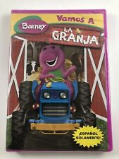 Barney Spanish DVD - Vamos a la Granja (DVD 2005) ~ New Sealed!