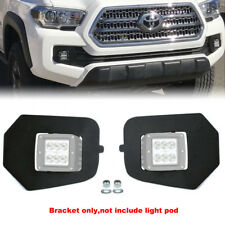 For 16-up Toyota Tacoma Hidden Lower Bumper LED Fog Light Pod Upgrade Bracket