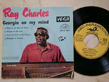 Ray Charles Georgia on My Mind French 60s 4Track EP