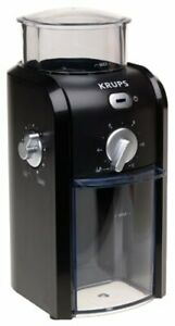 Krups BURR GRINDER Coffee -Espresso-  Spices 17 grind settings  GVX-1 READ BELOW
