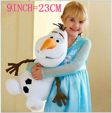 New Cute 9inch Olaf Snowman Doll Xmas gift Plush Soft Stuffed Kids Baby Toy