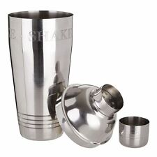 750ml Stainless Steel Bombay Cocktail Shaker