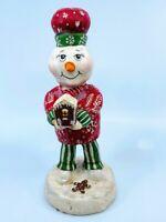 ESC Company: CR McClenning; Christmas, Snowman, Gingerbread Baker, item#24151