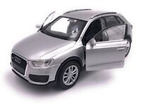 Audi Q3 Modellauto Auto LIZENZPRODUKT 1:34-1:39 versch. Farben