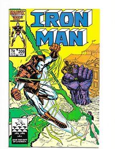 Marvel Iron Man #209 (Aug. 1986) High Grade