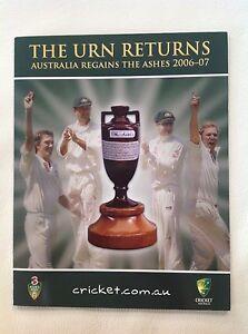 2006-07 The Urn Returns Australia Regains The Ashes Stamp Pack
