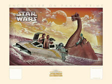 Star Wars Celebration Anaheim Matt Busch #16 Encounter On Panna Prime Art Print