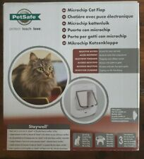 PetSafe Microchip Cat Flap Door 100 Series Compatible w/ PetSafe Rfid Keys