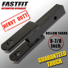 FastFit Heavy Duty 8-7/8 inch Hollow Shank Tow Clevis Ball Mount TOWBAR TONGUE