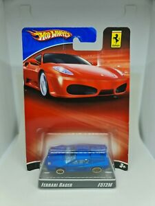 Hot wheels 60th anniversary ferrari racer f512m blue free shipping