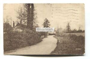 Eastcote, Pinner - Wiltshire Lane - 1937 used postcard