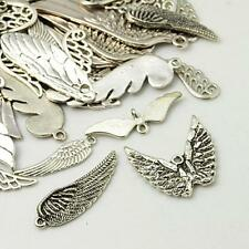 30g x Tibetan Silver Charms / Pendants ~ WINGS ~ Mixed ~ ANTIQUE SILVER