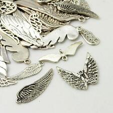 30g x tibetan silver charms / pendentifs ailes ~ ~ ~ mixte argent antique