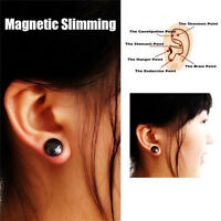 Weight Loss Earrings Slimming Healthy Acupoints Stud Magnetic Therapy SK