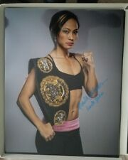 KARATE HOTTIE Michelle Waterson signed 16x20 photo UFC GLOVE POSTER AUTO Conor