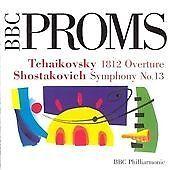 Shostakovich: Symphony No.13/Tchaikovsky: 1812 Overture, , Very Good