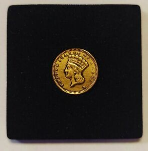 1861 Type 3 One Dollar $1 Gold Liberty Grading VF Priced Right Shipped FREE